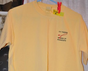 Yellow Tee Yellow T-shirt M, L, XL $15.00 (members) $20.00 (non-members)