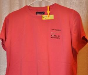 Salmon Tee Salmon T-shirt M, L,  XL $15.00 (members) $20.00 (non-members)